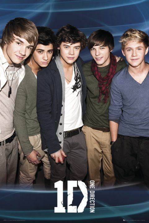 Poster One Direction Blue