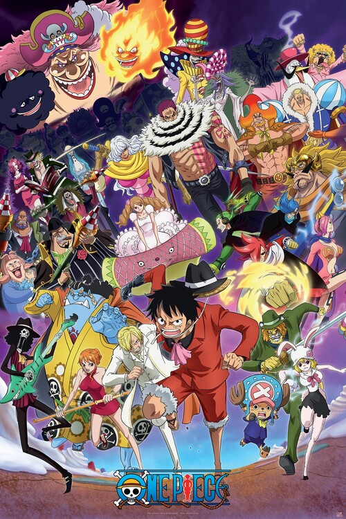 Poster One Piece - Big Mom saga