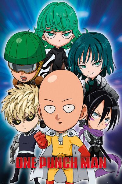Poster One Punch Man - Chibi