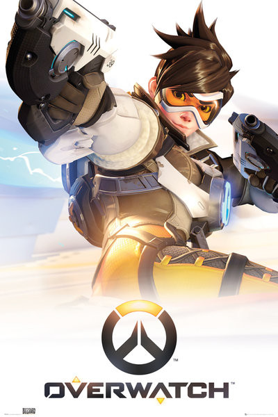 Póster Overwatch - Tracer