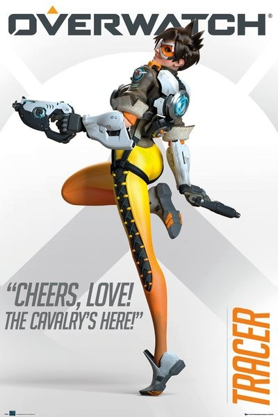 🤩 Overwatch - Tracer Póster 6980912bfeeb