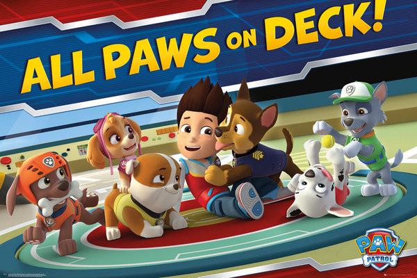 Poster Paw Patrol - Paws