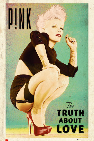 Poster Pink - truth about love