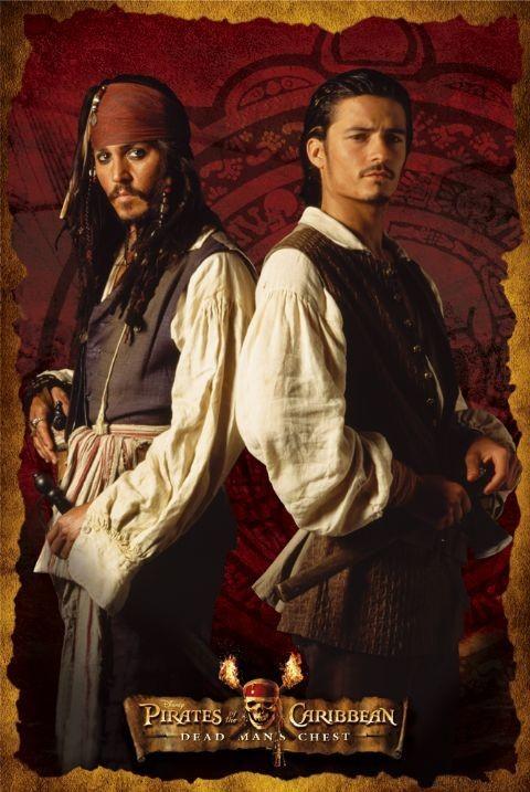 Bestel de Pirates of Caribbean 2 - DUO Poster op Europosters nl