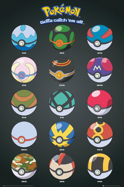Pokemon Pokeballs V26890