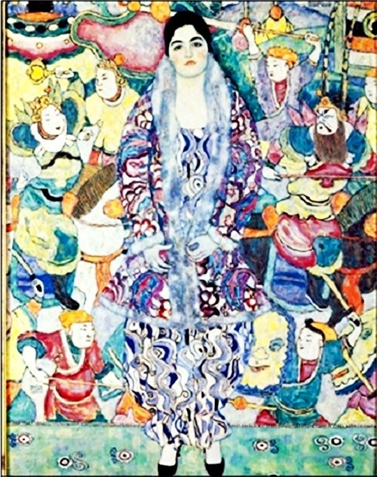 Portrait of Friederike Maria Beer 1922 Kunstdruk