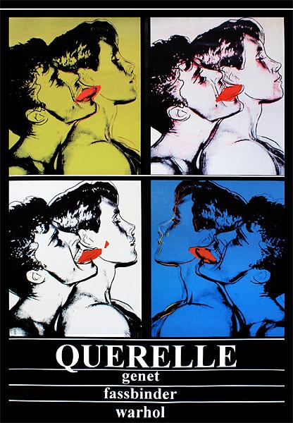 Póster Querelle - Genet, Fassbinder, Andy Warhol