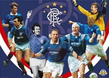 Poster Rangers - legends