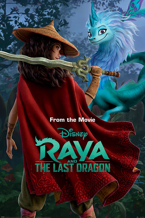 Poster Raya and the Last Dragon - Warrior in the Wild