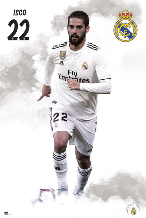 Poster  Real Madrid 2018/2019 - Isco