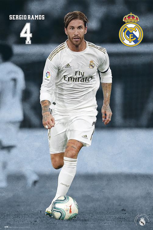 Póster  Real Madrid 2019/2020 - Sergio Ramos