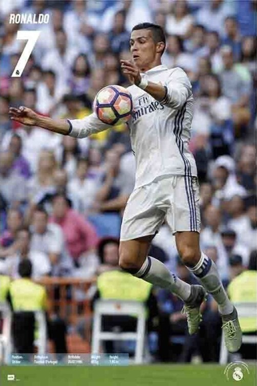 Póster Real Madrid - Ronaldo 2016/2017