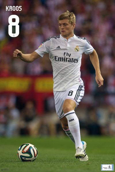 Póster Real Madrid - Toni Kross
