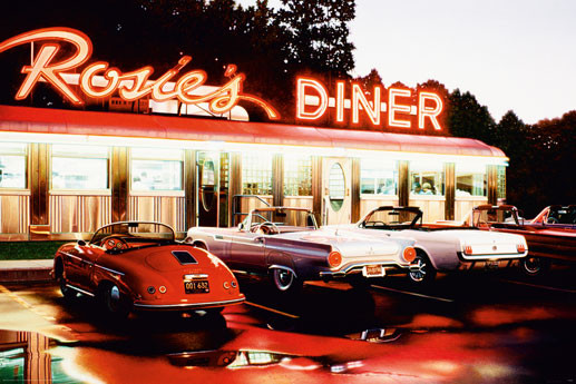 Poster Rosie's diner - colour