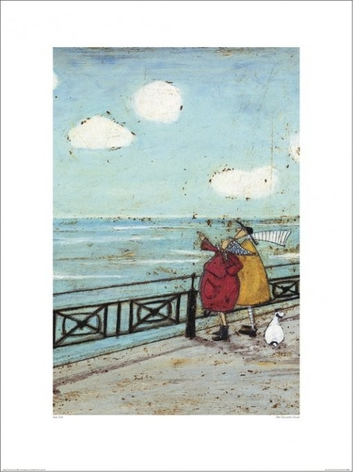 Sam Toft - Her Favourite Cloud Kunstdruk