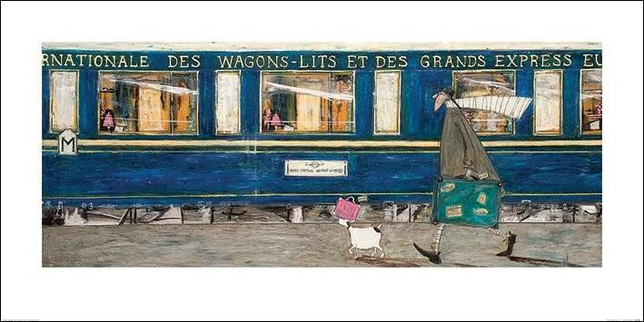 Sam Toft - Orient Express Ooh La La Kunstdruk