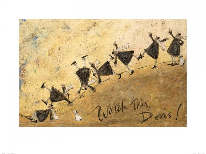 Sam Toft - Watch This, Doris! Kunstdruk