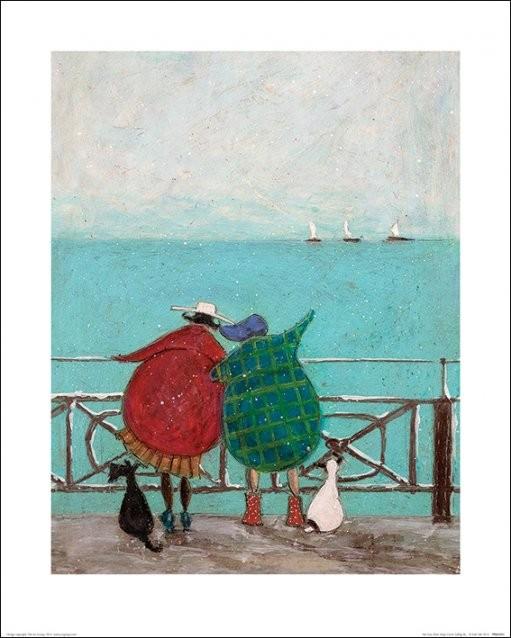Sam Toft - We Saw Three Ships Come Sailing By Kunstdruk