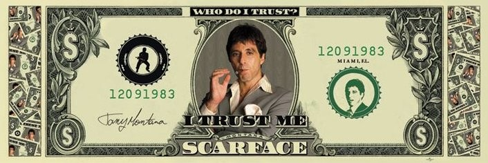 Poster SCARFACE - dollar
