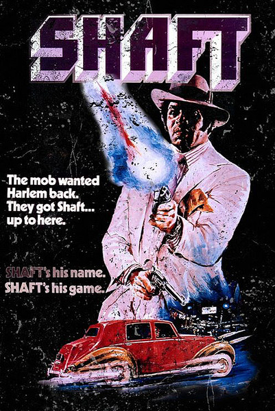 Poster Shaft il detective, 1971
