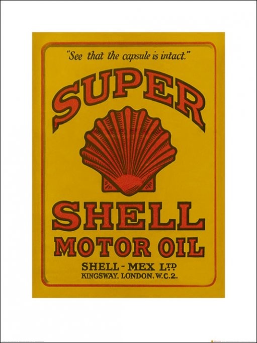 Shell - Adopt The Golden Standard, 1934 Kunstdruk