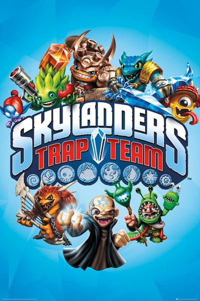 Poster Skylanders Trap Team - Trap Team