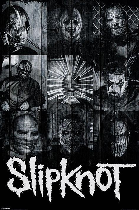 Póster  Slipknot - Masks