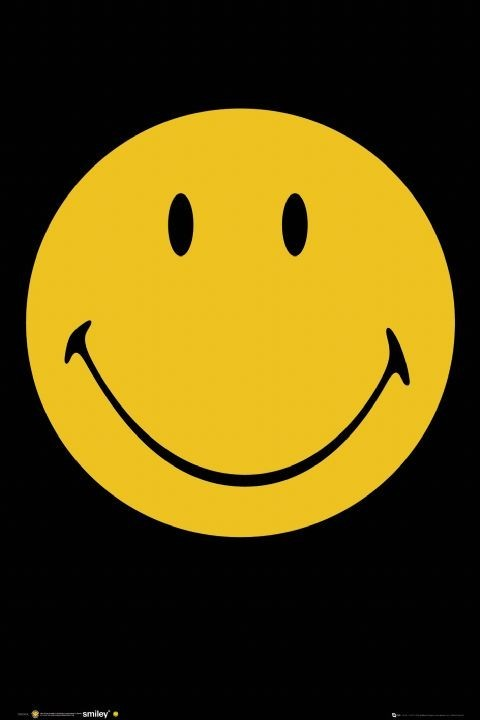 Poster Smiley - face