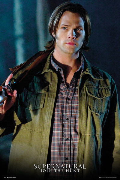 Póster  Sobrenatural - Sam Solo