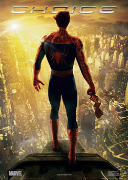 Poster SPIDERMAN 2 - choice