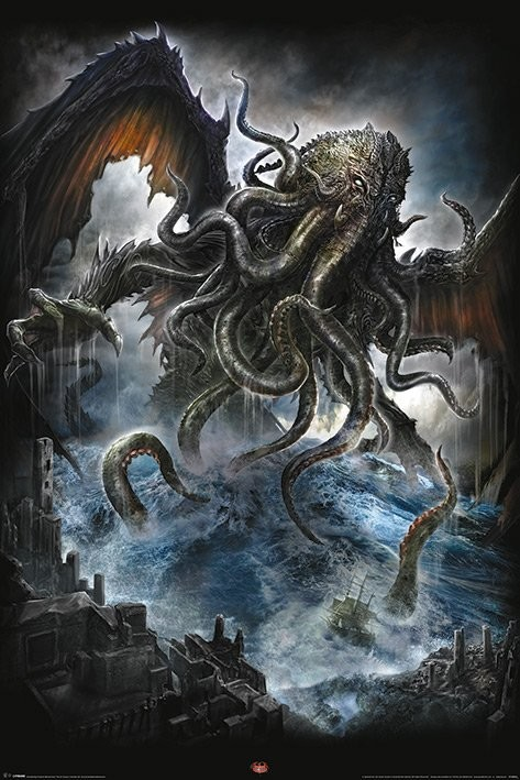 Poster Spiral - Cthulhu