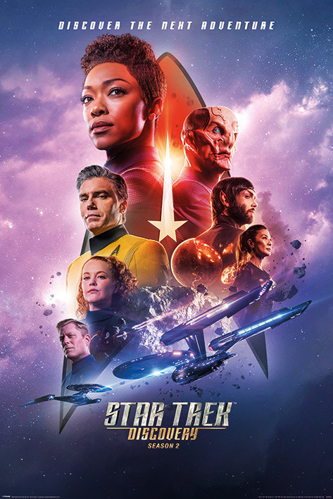 Póster Star Trek Discovery - Next Adventure