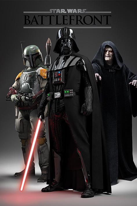 Póster  Star Wars: Battlefront - Dark Side