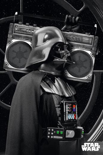 Poster Star Wars - darth vader boombo