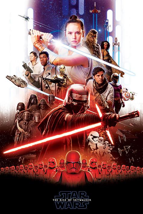 Resultado de imagen de poster el ascenso de skywalker