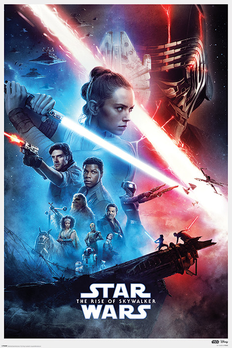Póster Star Wars: El ascenso de Skywalker - Saga