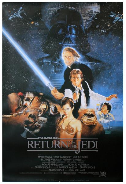 Star Wars: Episode VI - Die Rückkehr der Jedi-Ritter Poster, Plakat | 3+1  GRATIS bei Europosters