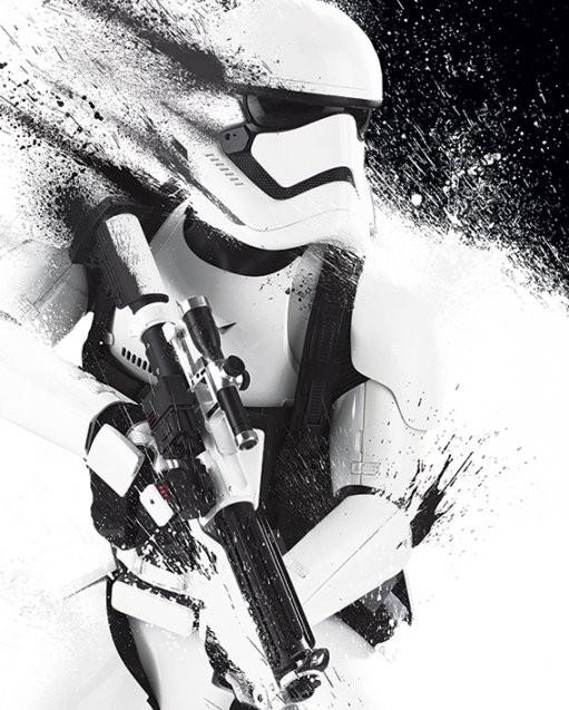 Póster Star Wars Episode VII: The Force Awakens - Stormtrooper Paint