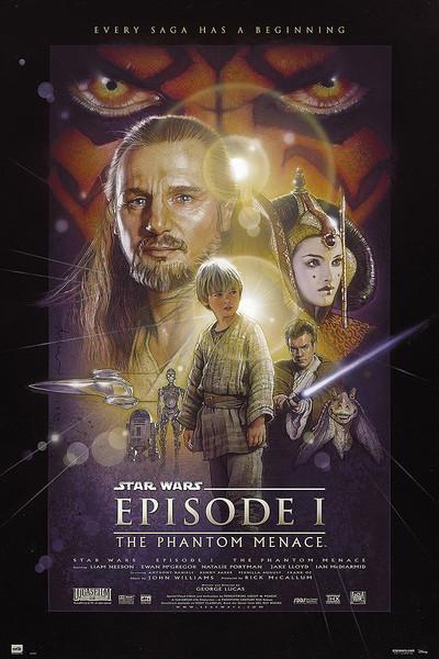 🤩 Star Wars: Episodio I - La amenaza fantasma Póster, Lámina ...