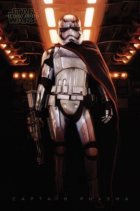 Poster Star Wars, Episodio VII : Il risveglio della Forza - Captain Phasma