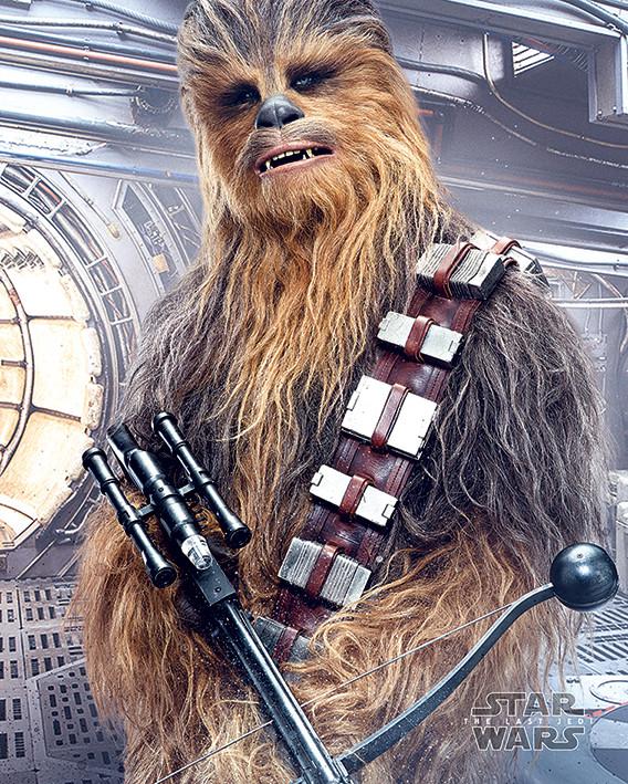 Póster Star Wars: Episodio VIII - Los últimos Jedi- Chewbacca Bowcaster