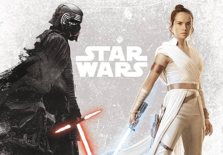 Poster Star Wars - Kylo & Rey