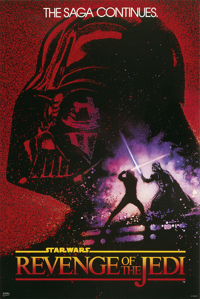 Star Wars: Revenge of the Jedi Poster, Plakat | 3+1 GRATIS bei Europosters