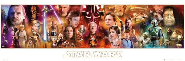 Póster Star Wars -Saga Completa