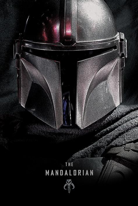 Póster Star Wars: The Mandalorian - Dark