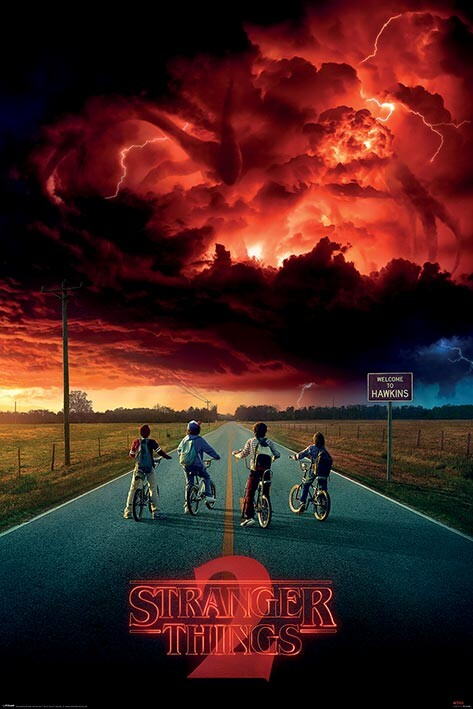 Poster Stranger Things - Mind Flayer
