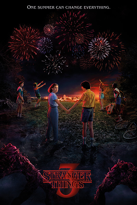 Póster  Stranger Things - One Summer
