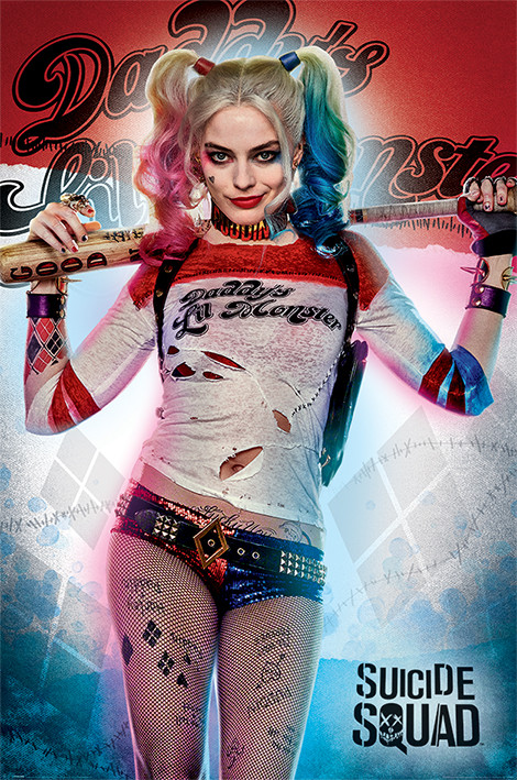 Poster Suicide Squad - Daddy's Lil Monster
