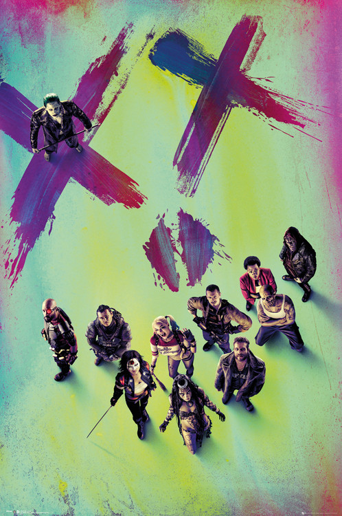 Poster  Suicide Squad - Stand