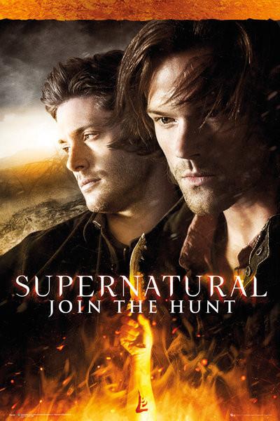 Poster Supernatural - Fire
